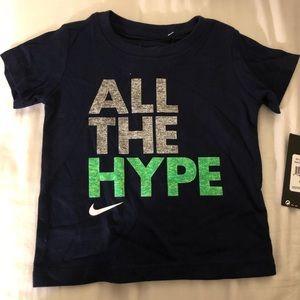 "Toddler Nike ""Al The Hype"" T-shirt"